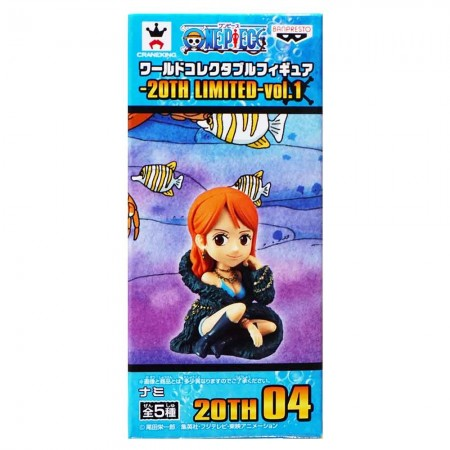 Banpresto One Piece WCF 20TH Limited Vol 1 - Nami (PVC Figure)