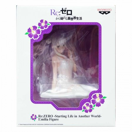 Banpresto Re:Zero -Starting Life in Another World- Emilia Figure (PVC Figure)