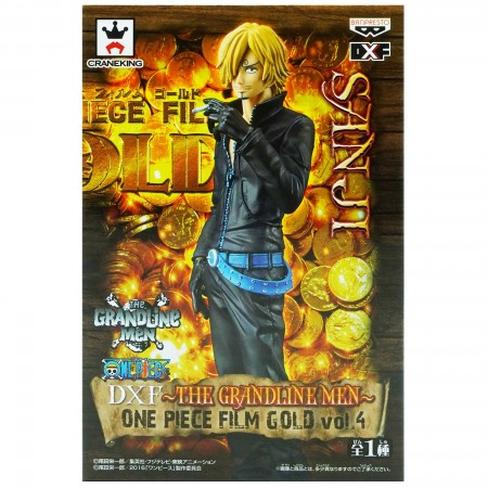 Banpresto DXF The Grandline Men One Piece Film Gold Vol 4 Sanji (PVC Figure)