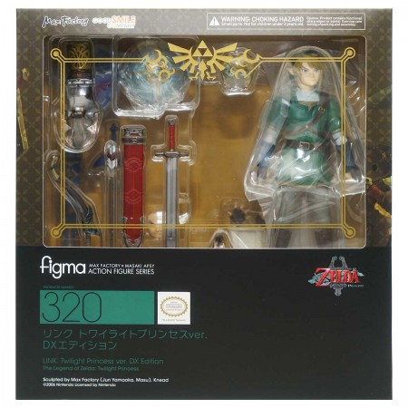 Max Factory figma 320 Link Twilight Princess Ver DX Edition (PVC Figure)
