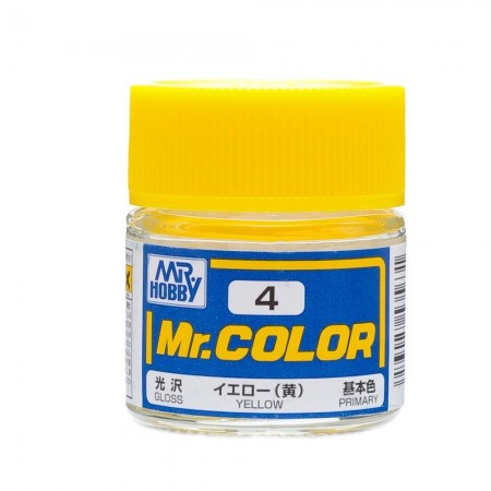 Mr.Color 4 Yellow
