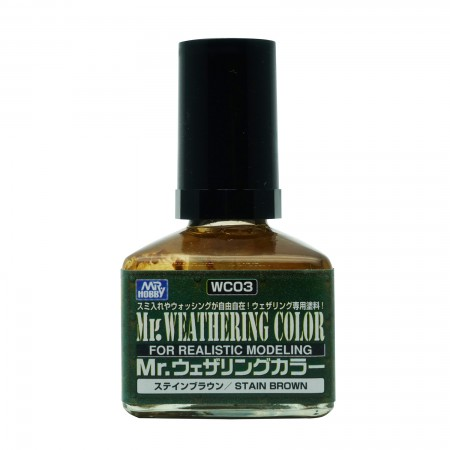 Mr.Weathering Color WC03 Stain Brown