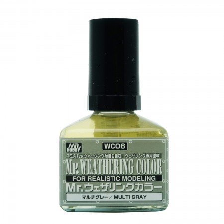 Mr.Weathering Color WC06 Multi Gray