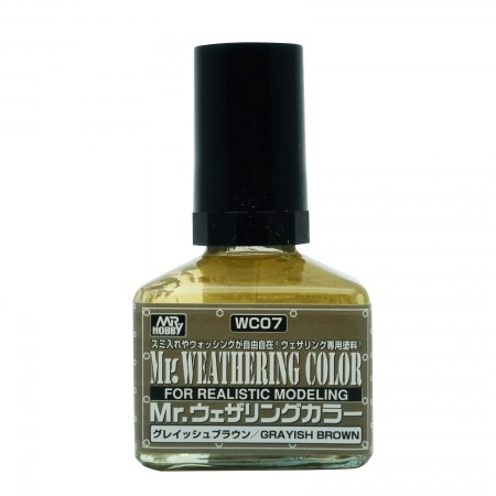 Mr.Weathering Color WC07 Grayish Brown