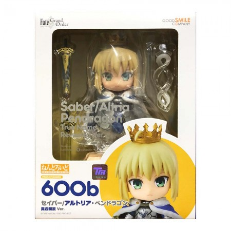 Nendoroid 600b Saber/Altria Pendragon True Name Revealed Ver