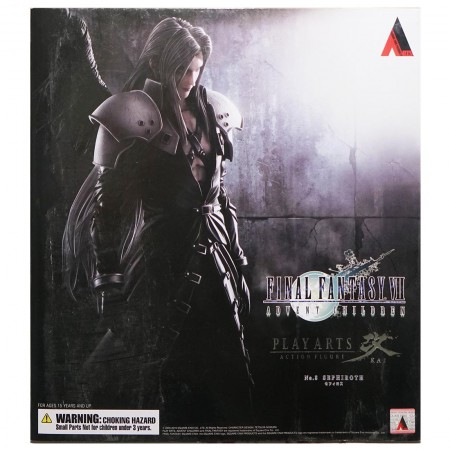 Play Arts Kai Final Fantasy VII Advent Children Sephiroth (PVC Figure)