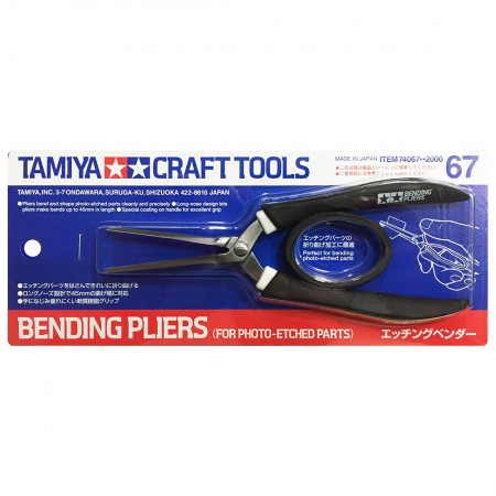 Tamiya Bending Pliers (For Photo-etched Parts) TA 74067