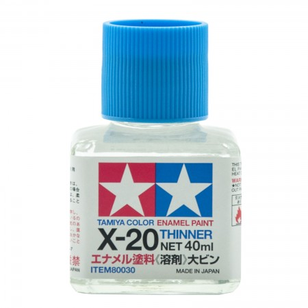 Tamiya X-20 Thinner Enamel Paint TA 80030