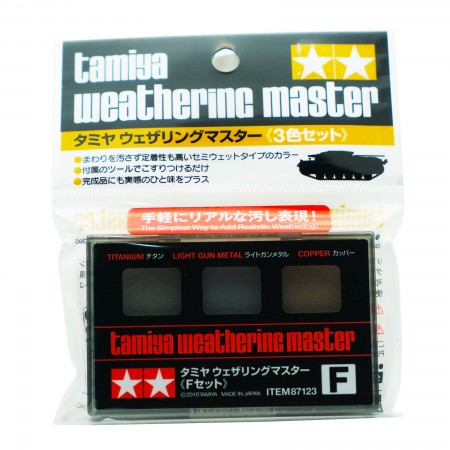 Tamiya Weathering Master F Set Item 87123