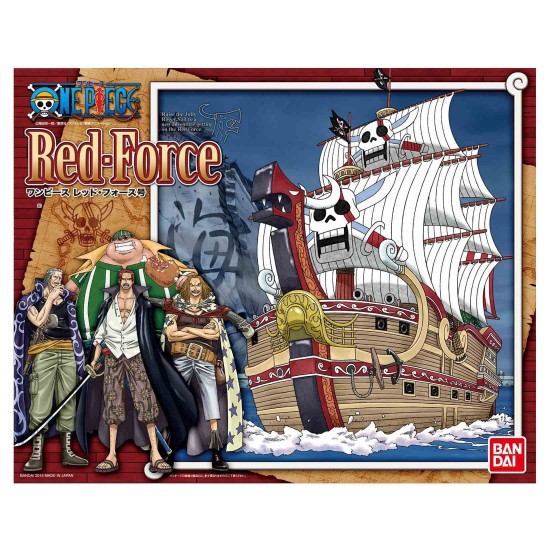 Bandai Red Force Ship (One Piece)