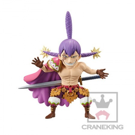 Banpresto One Piece WCF - Battle of Luffy Whole Cake Island - Charlotte Cracker (PVC Figure)