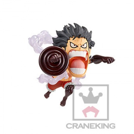 Banpresto One Piece WCF - Battle of Luffy Whole Cake Island - Luffy Snakeman (PVC Figure)