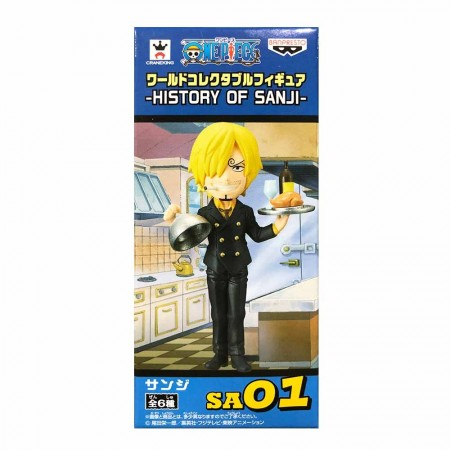 Banpresto One Piece WCF - History of Sanji - 01 (PVC Figure)